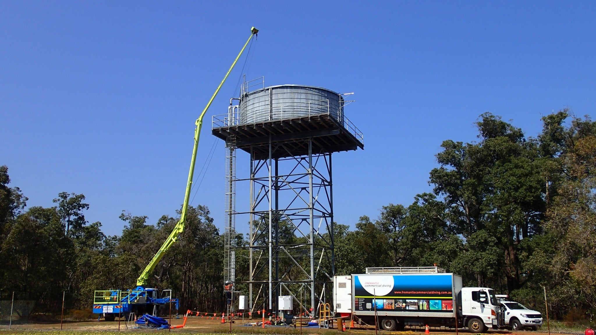 Water Corp Potable Water Tanks