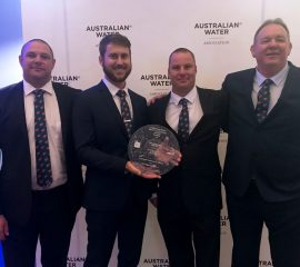 National Water Industry Safety Excellence Award 2018 – Australian Water Association